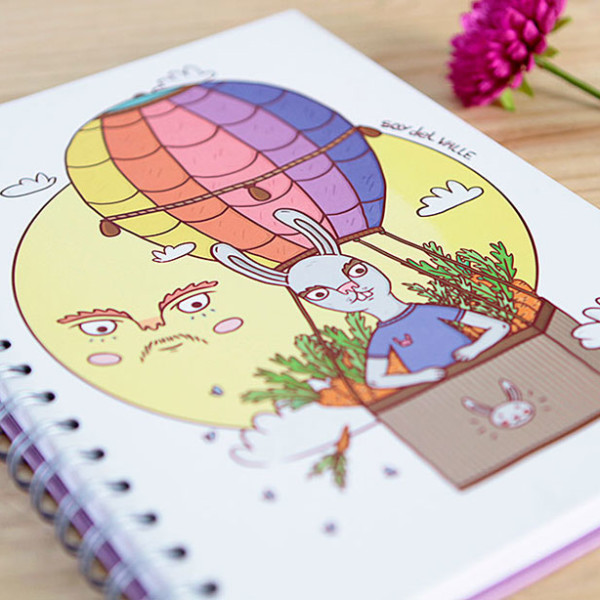 Cuaderno Soy del Valle - Sobre las nubes