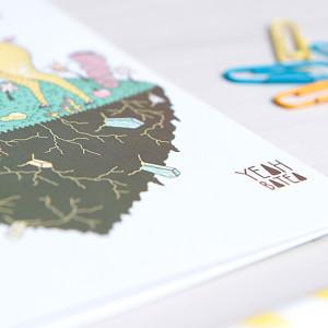 Colección tarjetas Yeah Batea