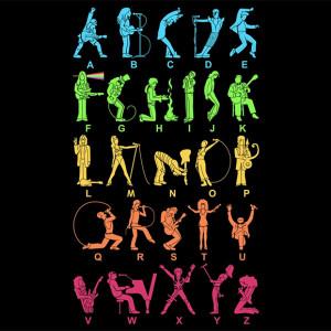 Musical alphabet - Threadless