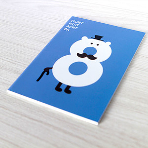 Mini libreta Número 8