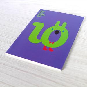 Mini libreta Número 10