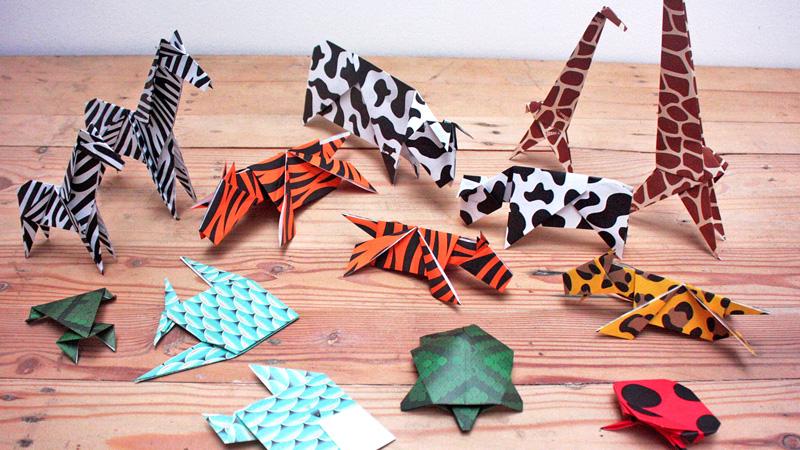 Workshop Origami - Animal Print