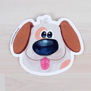 Stickers Perro y Gato ilustrados