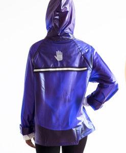 Rain Jacket Morado Mujer