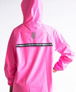 Rain Jacket Pink Mujer