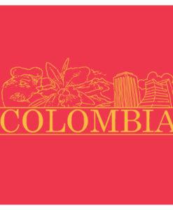 Postal colombia roja