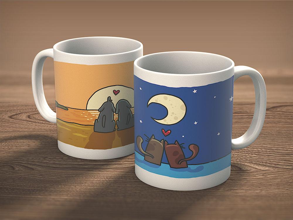 Mugs slider