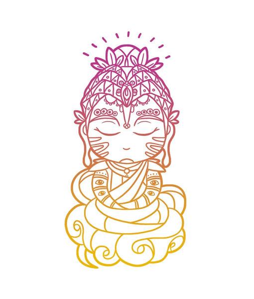 Cojín Buddha