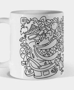 Mug chef dragón