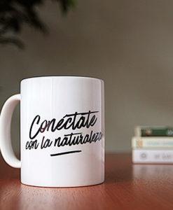 Mug Conéctate con la naturaleza