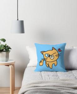 Cojín Gato azul