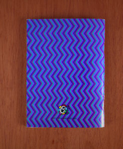 Mini libreta Colombia morada